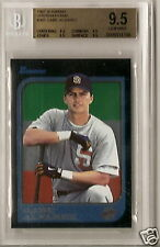 1997 BOWMAN BGS 9.5 GEM MINT GABE ALVAREZ INT. RC