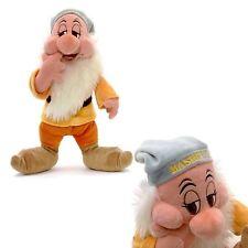 NUOVO Ufficiale Disney BIANCANEVE E I SETTE NANI BASHFUL 30cm Morbido Giocattolo Peluche