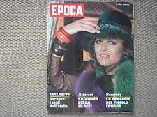EPOCA #1222 1974 CLAUDIA CARDINALE LUCIANA SAVIGNANO PHIL READ VANESSA REDGRAVE