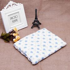 100 Cotton Swaddle Towel Baby Swaddling Blanket Soft Muslin Newborn Infant 7#