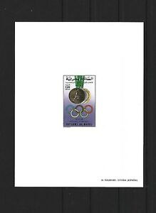 Morocco,1988,Olympic,deluxe,MNH