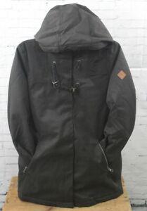 O'Neill Forest Woods Parka Winter Jacket, Women's Medium, Black Out New