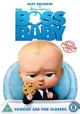 THE BOSS BABY DVD Alec Baldwin Tom McGrath UK Release Brand New Sealed R2