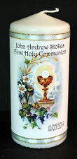 Cellini Candles Personalised First Holy Communion Chalice Gift  Keepsake #4