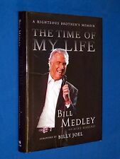 SIGNED The Time of My Life Righteous Brothers Memoir Bill Medley HCDJ Hardcover