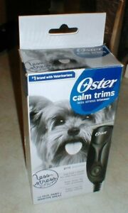 Oster Calm Trims Pro Trimmer Animals Face Paws & Sensitive Areas LESS STRESS