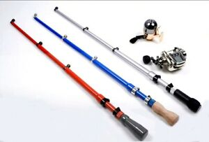 1/6 Action Figure Blind Box Accessories Metal Fishing Rod Pole Reel 1 Random Toy