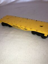 Lionel 9020 Union Pacific Flat Car Yellow RR O Scale