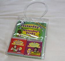 Super Duper Publications BK364 Yesterday's Verbs Workbook