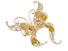 Opal Antstecknadeln und Broochen aus Gelbgold