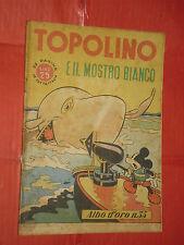 ALBO ORO N° 35 -lg-originale 1946-DISNEY MONDADORI-topolino e il mostro bianco