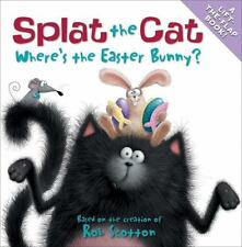 SPLAT THE CAT Where's the Easter Bunny? (Brand New Paperback) Rob Scotton