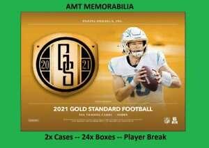Chase Young Washington 2021 Panini Gold Standard 2X CASE 24X BOX BREAK #1