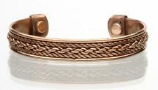 PURE COPPER MAGNETIC BRACELET mens womens STYLE#D  jewelry health magnets energy
