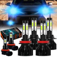 For Toyota Sienna 2011-2020 - 6x LED Headlight High Low Fog Light Bulb Combo Kit