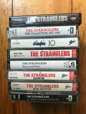Stranglers cassettes, lot of 8, all NM- to VG+.