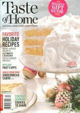Taste of Home Magazine December 2018