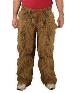 ADULT BROWN WEREWOLF FUR BEAST LEGS PANTS COSTUME DRESS NEW 1015BSC