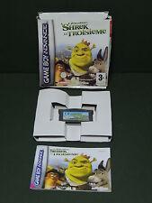 SHREK 3 Le Troisième jeu Gameboy Advance boite avec livret d'instructions - GBA