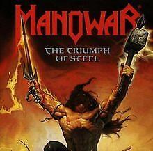 The Triumph of Steel von Manowar   CD   Zustand gut