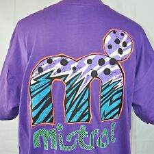 Mistral Windsurfing Extreme Abstract Wave Art Vtg T-Shirt 2XL Mens 1990s NOS USA