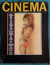 1964 Cinema Magazine Vol 2 #3 Jackie Lane Sam Peckinpah Screen Sirens Sex Heston