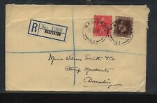 New  Zealand,  Masterton  registered cover  , local use        MS0905
