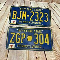Vintage Pennsylvania Keystone state License plates