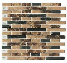 "Crystiles® Peel&Stick Self-Adhesive Tiles, Item# 91010843, 10""X10"", Set of 6"