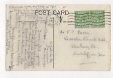 Mr FC Lucas Alverston Private Hotel Pembury Road Westcliff On Sea 1930 476a