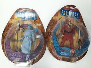 Farscape D'Argo & Zhaan Figures In Original Boxes #478