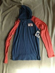 Cleveland Indians Hooded Pullover Shirt NEW Hoodie NWT Size Small