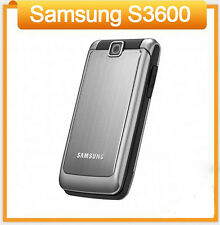 Original Samsung S3600 (Unlocked) Flip Mobile Phones GSM Bluetooth 1.3 MP Camera