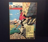 Journal Tintin n°731 de 1962 Éd Française avec point Tintin.