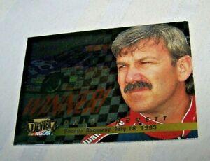 DALE JARRETT 1996 FLEER ULTRA WINNERS NASCAR INSERT CARD 13/18