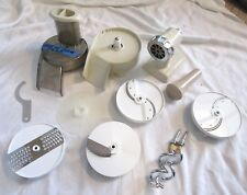 Oster Regency Kitchen Food Processor Mixer Parts HUGE Lot Lid Blades attachments
