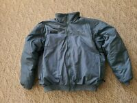 Vintage Columbia Men's Reversible Down Puffer Jacket Color Teal Maroon Sz Large