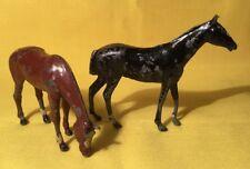 """Britains Caballo Alimentación Y COB caballo"""" (541) mi Ref Gris Metal,"""
