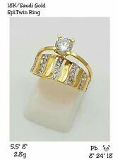 Saudi Gold 18k Ring ❤ Pawnable ❤ Code: LR03-SPL