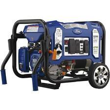 Ford 5,250 Watts Dual Fuel Propane Gasoline Portable Generator Electric Start