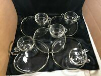 Set of 5 Vintage Hazel Atlas Apple Orchard Snack Tray Cup