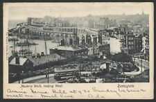 Ramsgate, Thanet, Kent. Trams in Madeira Walk, Looking West. 1905 Posted P/Card