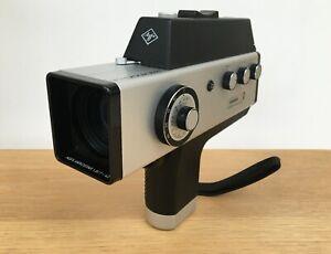 MOVEXOOM 3000 Super 8 Cine Film Camera with AGFA  Variostar 1.8/7-42 Lens & Case