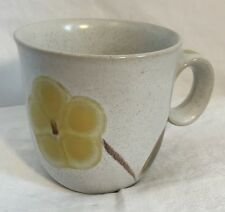 NORITAKE HAPPY TIME Folkstone Genuine Stoneware 8 oz Mug Coffee Tea Cup