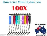 100X Universal Capacitive Touch Screen Mini Stylus Pen For iPhone iPad Note Tab
