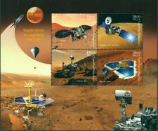 EXPLORATION OF PLANET MARS MINIATURE SHEET SPACE SCIENCE BALLOON ROCKET