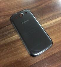 ! original Samsung Galaxy s3 i9300 i9305 Funda trasera Tapa batería gris Grey!!!