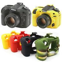 Silicone Body Cover Protector For Nikon D750 D5500 D5600 D7100 D7200 D3400 D7500