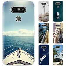 Dessana Yacht TPU Silicone Protective Cover Phone Case Cover For LG