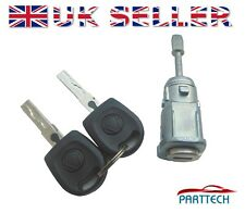 VW MK4 GOLF COMPLETE DOOR LOCK SET with 2 KEYS FRONT RIGHT OSF DRIVER SIDE